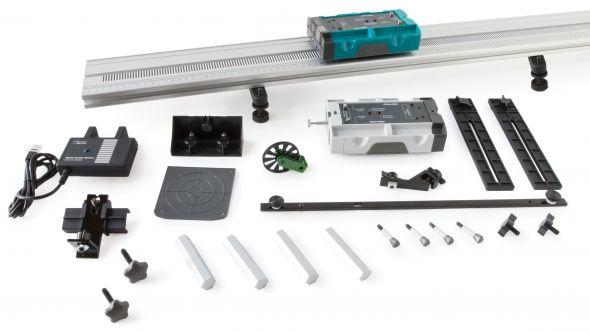 DTS-EC, Bộ thiết bị thí nghiệm phòng LAB - Dynamics Cart and Track System with Motion Encoder