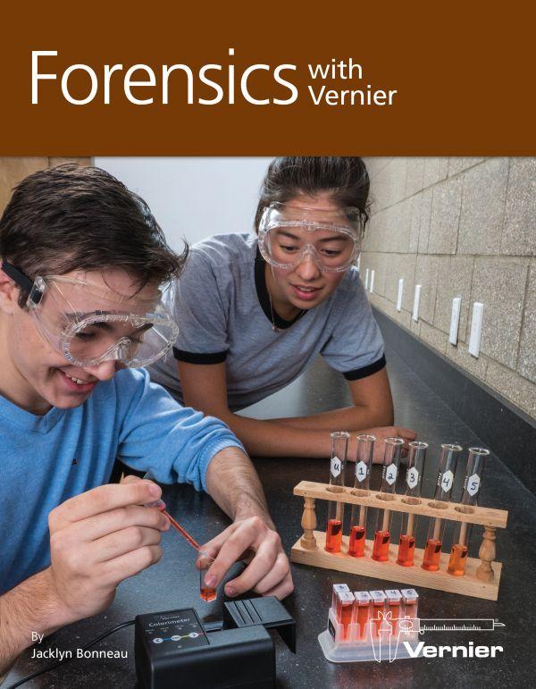 FWV-E, Sách hướng dẫn thí nghiệm Vernier môn Forensics with Vernier