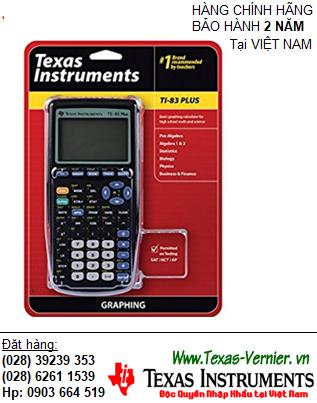 TI-83 PLUS, Máy tính khoa học lập trình Vẽ đồ thị Texas Instruments Ti-83 Plus (HẾT HÀNG)